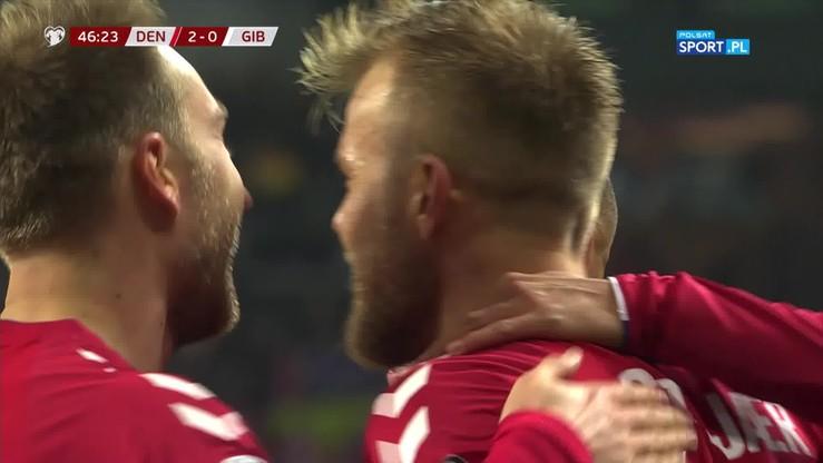 Kuriozalny gol Gytkjaera w meczu z Gibraltarem