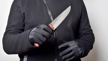 Pijany 16-latek zaatakował nożem policjanta