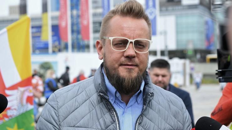 Zarzuty dla Pawła Tanajny. Jest decyzja sądu