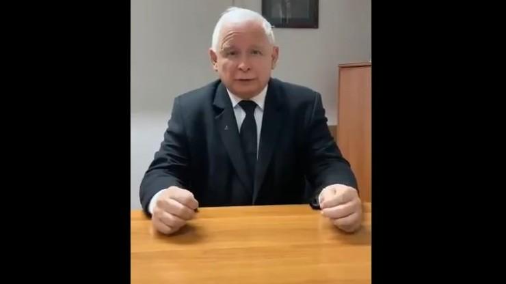 Jarosław Kaczyński rozpoczął #StopFurChallenge. Rzucił wyzwanie dwóm politykom