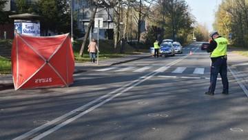 90-latek zginął na przejściu dla pieszych w Katowicach
