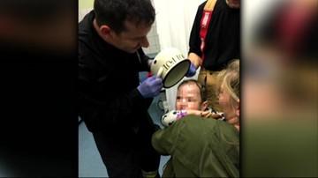 Dwulatek z garnkiem na głowie. Nietypowa interwencja strażaków
