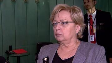 """""""Wzywam rząd i parlament do pomiarkowania"""". Oświadczenie Gersdorf ws. dyscyplinowania sędziów"""