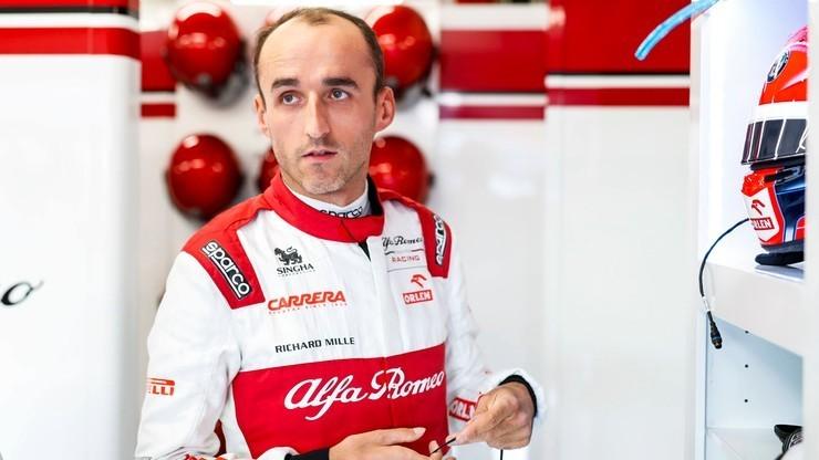 Formuła 1: Kubica czwarty na testach w Abu Zabi