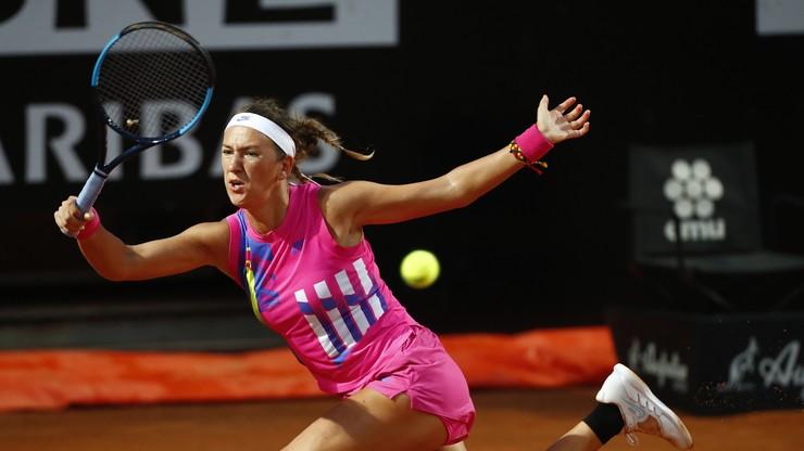 WTA w Rzymie: Wiktoria Azarenka wygrała z Kenin bez straty gema