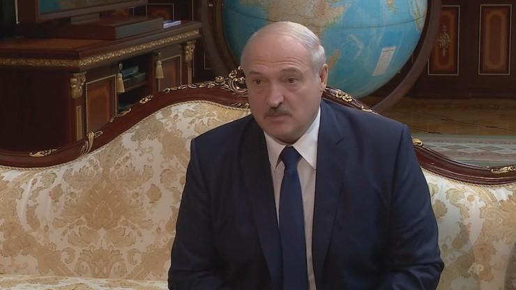 Łukaszenka: zamykamy granice z Litwą i Polską
