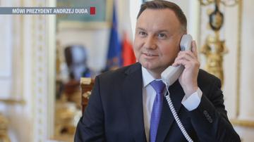 """""""Wzywam do spokoju"""". Prezydent Andrzej Duda o wystąpieniu Jarosława Kaczyńskiego"""