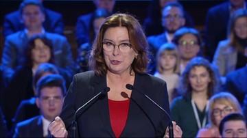 Małgorzata Kidawa-Błońska o planach związanych z prezydenturą