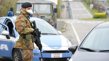 Włochy: 727 zgonów w ciągu doby
