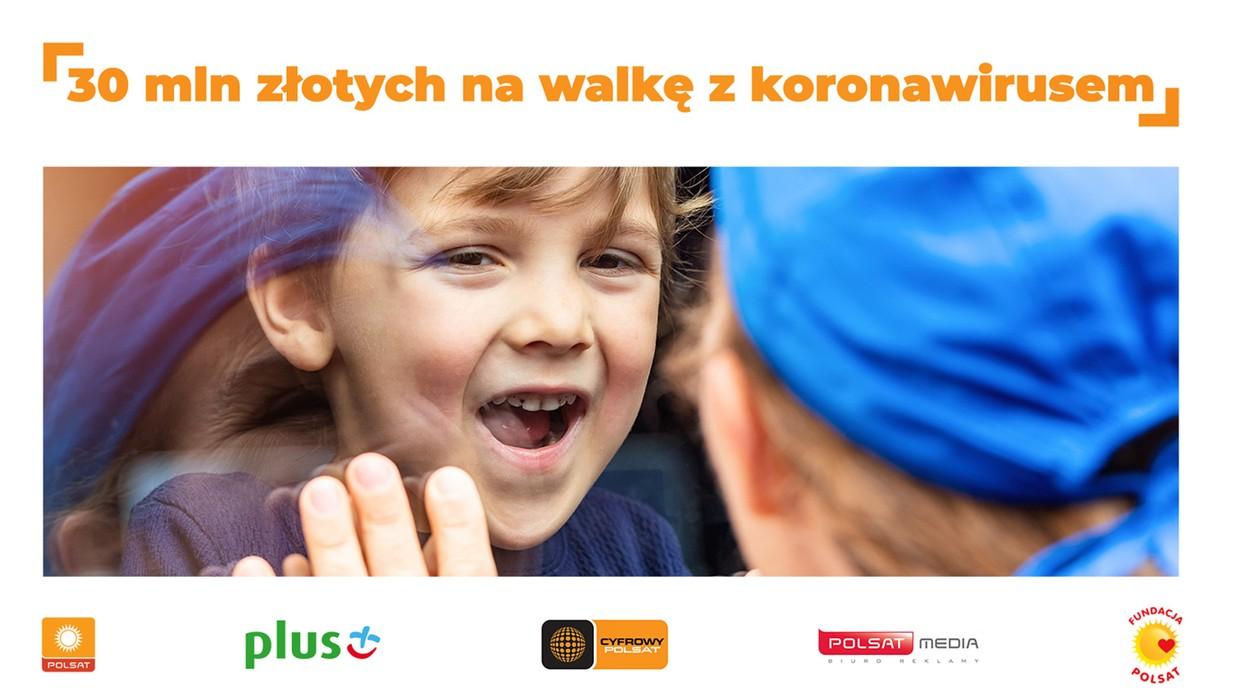 2020-07-11 30 milionów złotych na walkę z koronawirusem od Grupy Polsat
