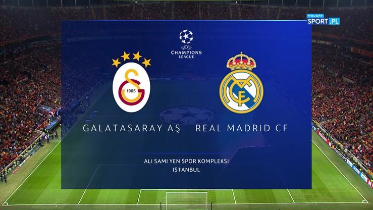 Galatasaray - Real Madryt 0:1. Skrót meczu