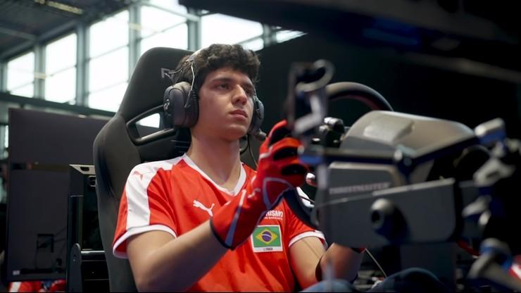 Kierowca e-sportowy dołącza do drużyny F3