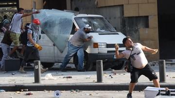 Chaos w Libanie. Wojsko wypędziło demonstrantów z siedziby MSZ