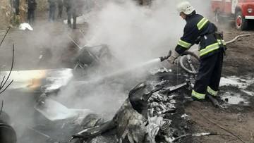 Były minister rolnictwa Ukrainy zginął w katastrofie śmigłowca pod Połtawą