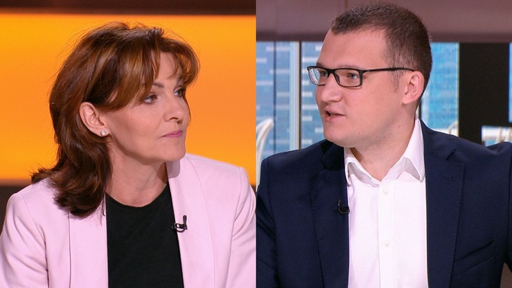 Starcie w Polsat News. Szefernaker do senator Lewicy: pani kłamie, proszę się z tych słów wycofać