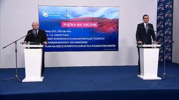 PiS zapowiedziało ustawy na pierwsze 100 dni rządu
