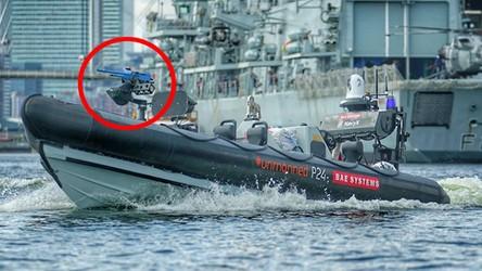 Autonomiczne łodzie patrolowe z karabinami maszynowymi stają się faktem [FILM]