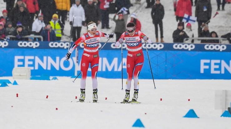 PŚ w biegach: Reprezentanci Norwegii najlepsi w sztafetach w Lahti