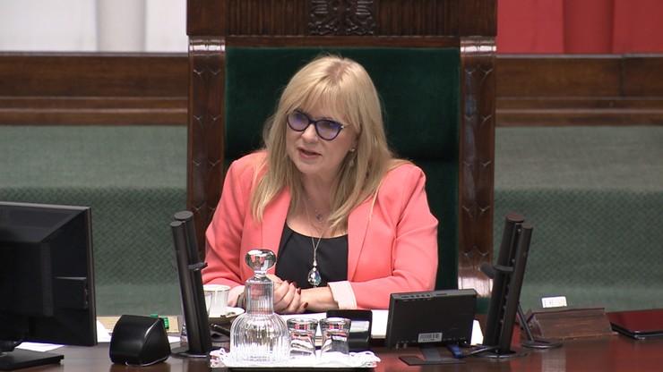 Wicemarszałek Sejmu Małgorzata Gosiewska zasygnalizowała wyraźnie, że nie chce, aby zwracać się do niej per