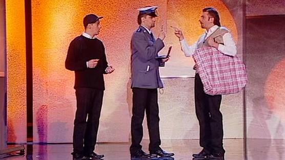Kabaret Młodych Panów - Policjanci: przedstawiciel