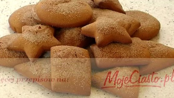 Miodowe ciasteczka