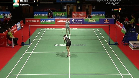 Nehwal (IND)- Magee (IRL)