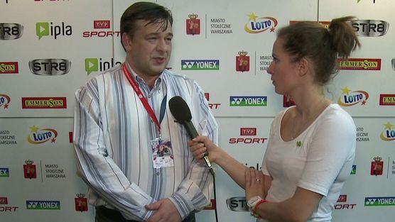 Polish Open 2014 by Yonex - wywiad z Markiem Krajewskim, prezesem PZBad