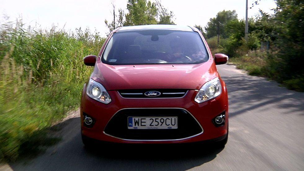 Ford Grand C-Max - mniej więcej van