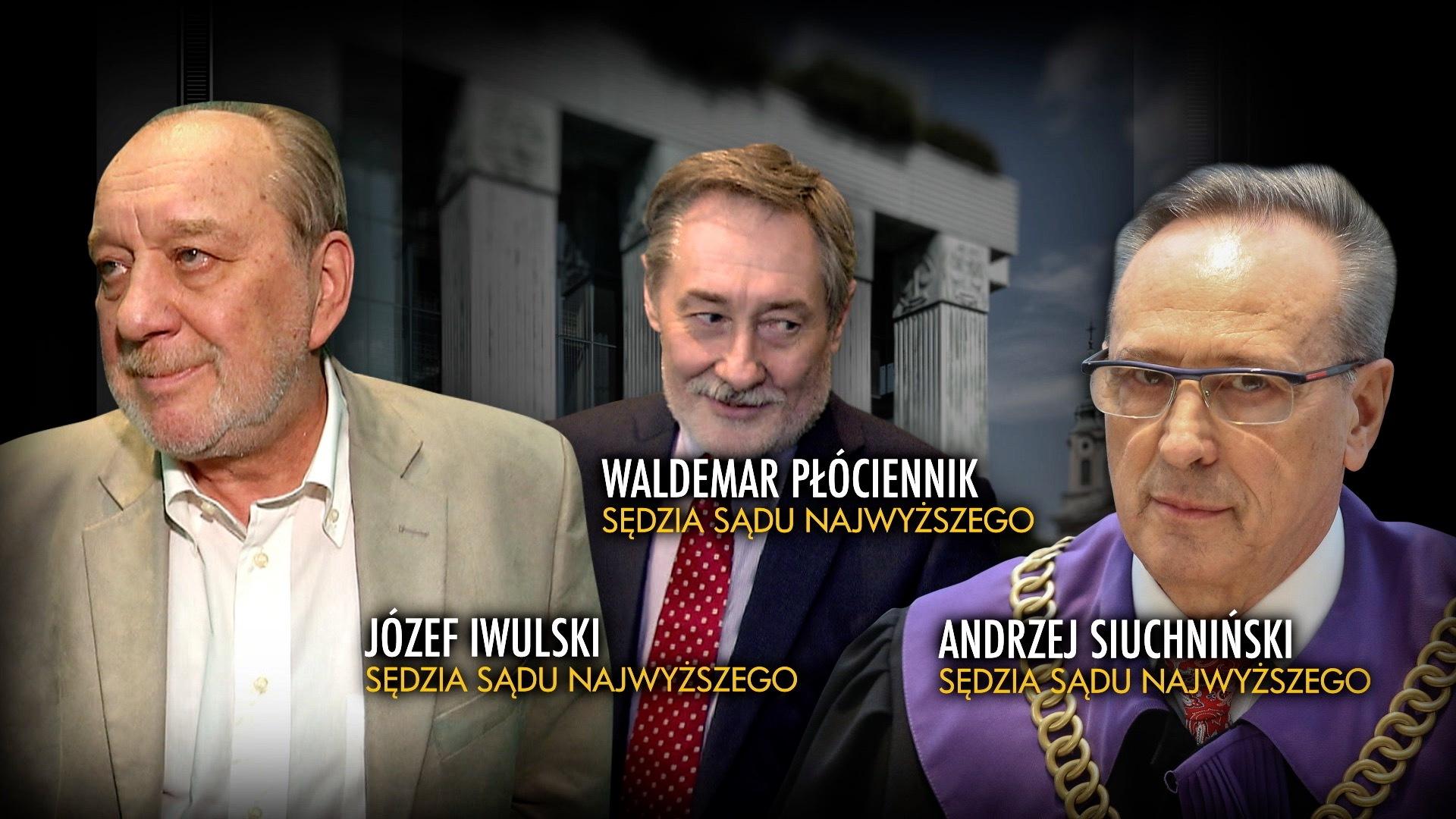 Trzech sędziów z obecnego składu SN orzekało w stanie wojennym w sprawach karnych