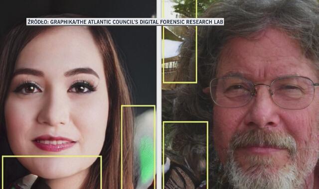 Fałszywe zdjęcia zidentyfikowane przez ekspertów Graphika i DFR Lab