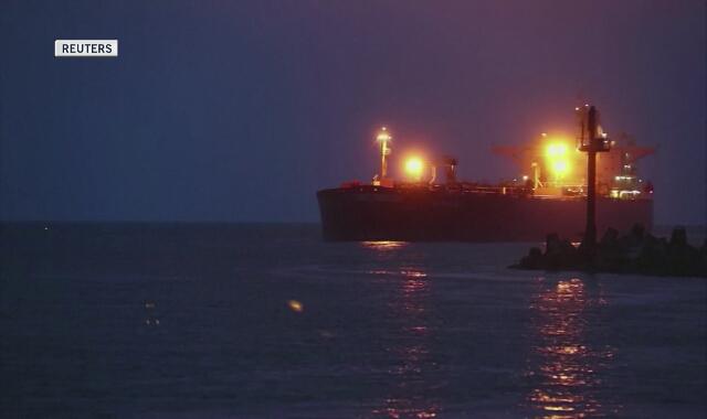 Litwa. Port w Kłajpedzie. Amerykańska ropa naftowa dla Białorusi dociera do Europy (czerwiec 2020)