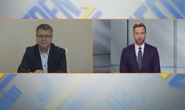 """Jarosław Dudzicz w """"Jeden na jeden"""" w TVN24"""