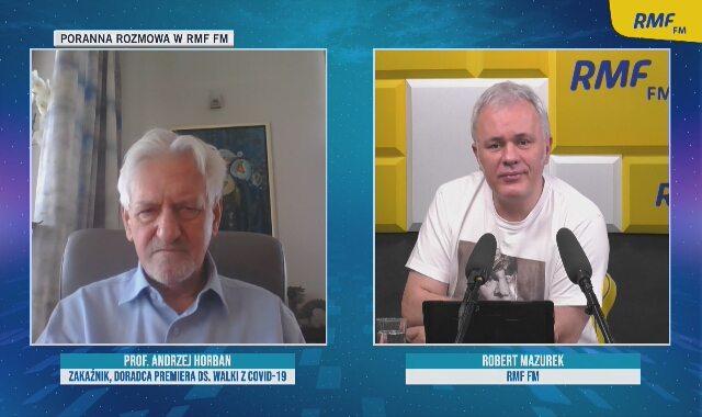 Profesor Andrzej Horban o statystykach zgonów