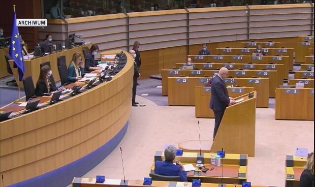 Joachim Brudziński w Parlamencie Europejskim o pomocy dla uchodźców