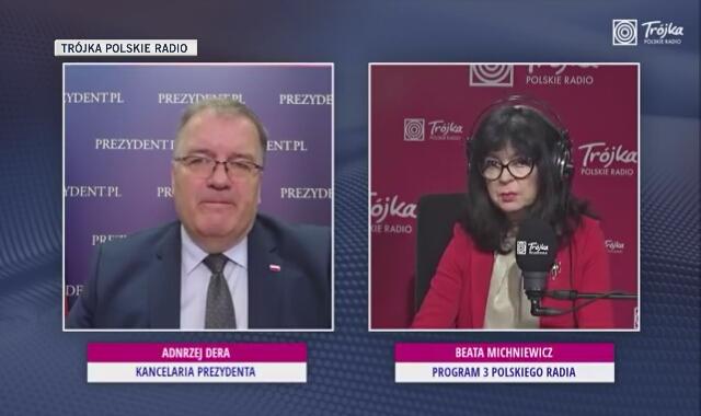 Andrzej Dera: Nie ma tematu raportu, bo raport nie istnieje