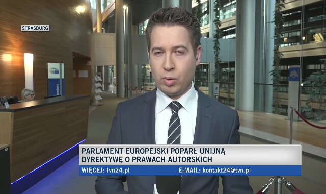 PE poparł unijną dyrektywę o prawach autorskich
