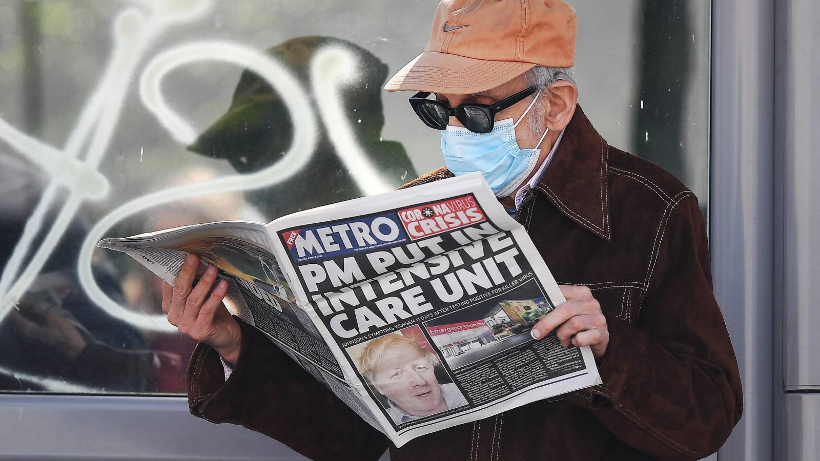 """07.04.2020   Boris Johnson na oddziale intensywnej terapii. Stan brytyjskiego premiera """"stabilny"""""""
