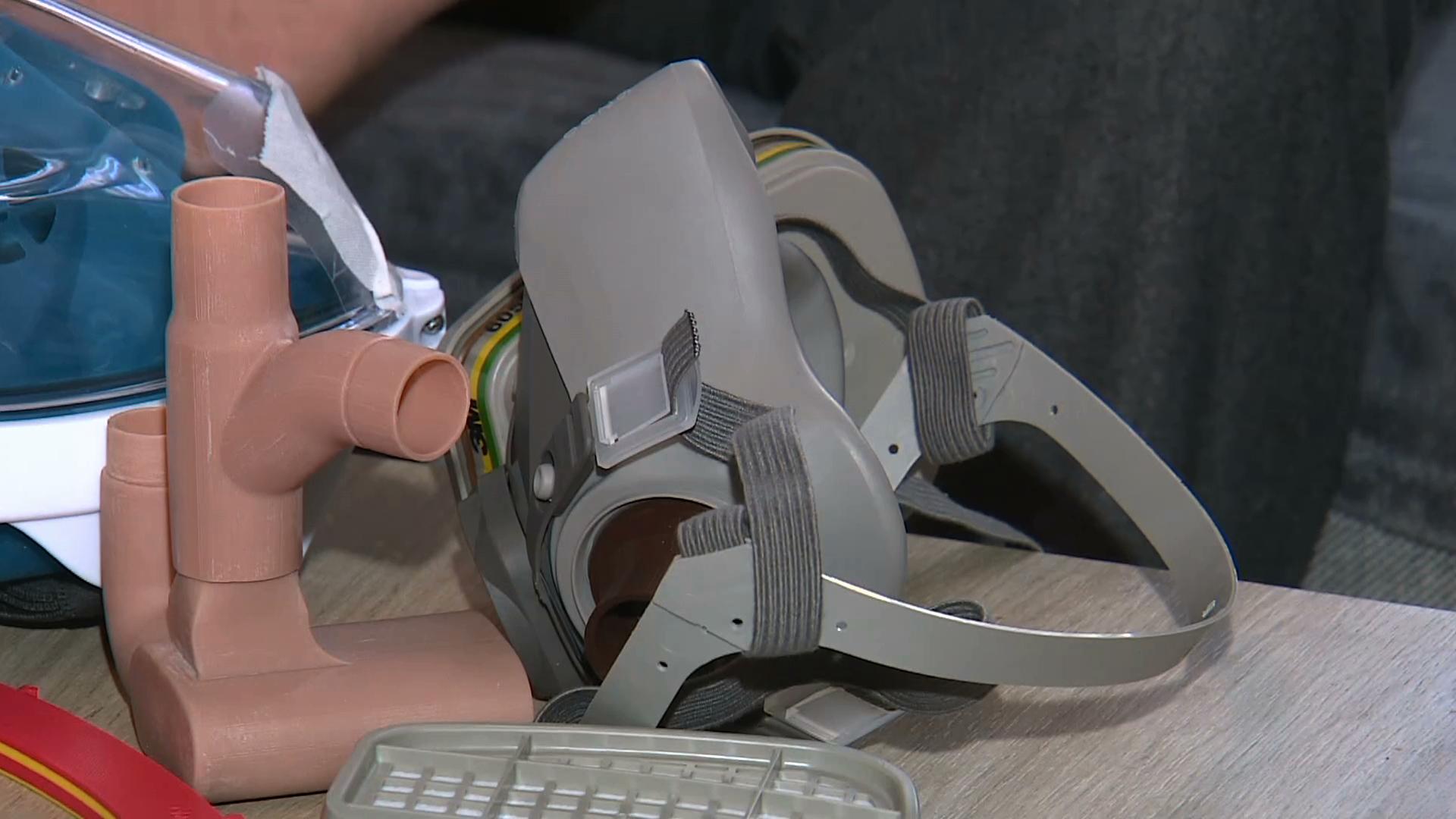 Dla medyków maski do nurkowania? Fala pomocy i niekonwencjonalne pomysły