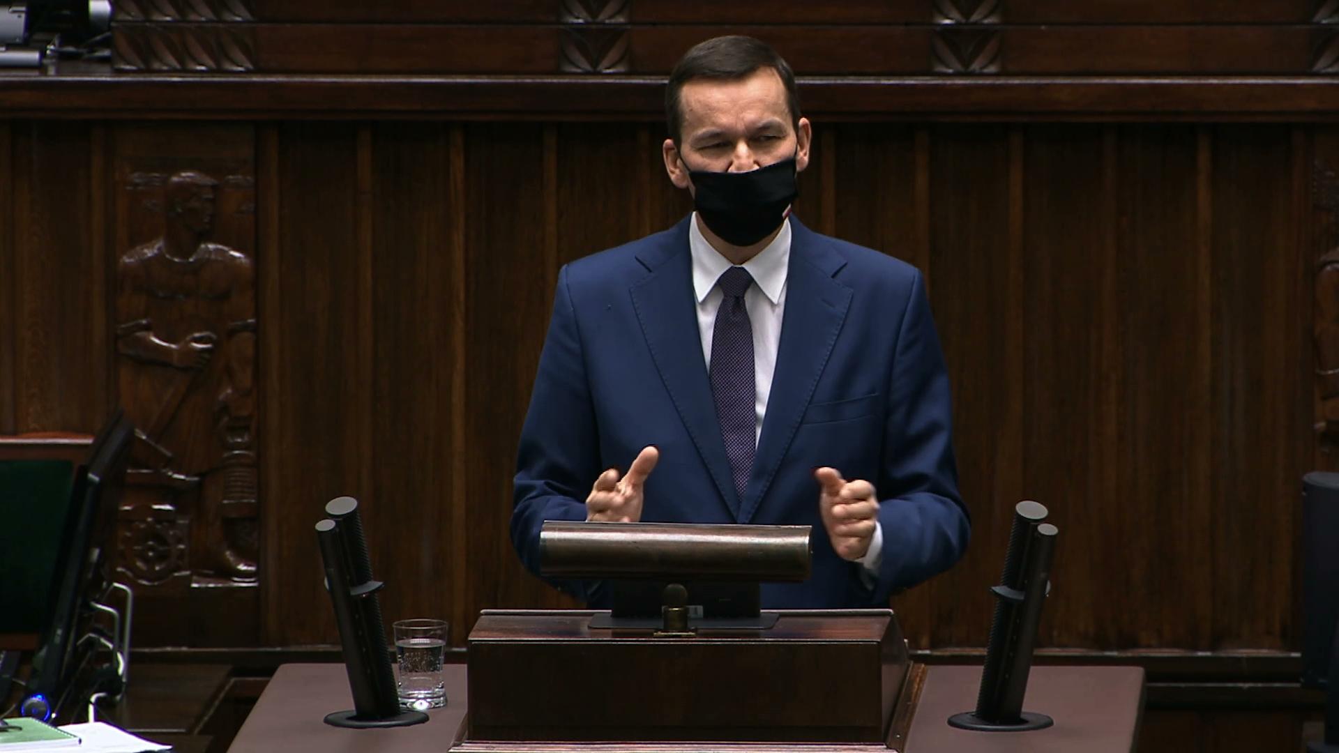 Debata w Sejmie o epidemii SARS-CoV-2