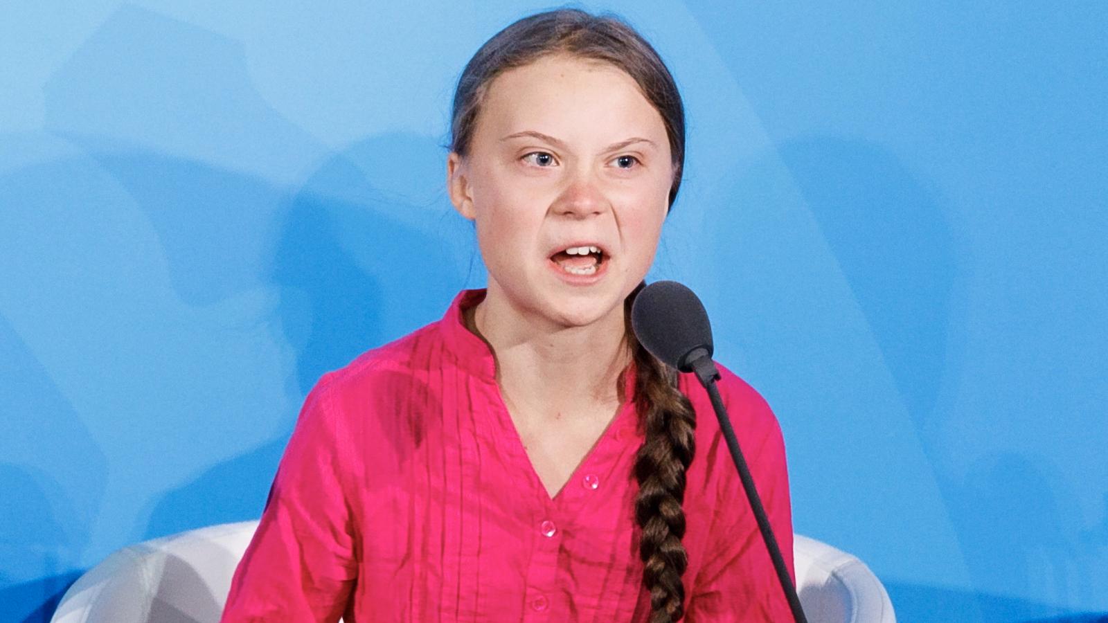 Płomienna mowa Grety Thunberg. Ona widziała Donalda Trumpa, on jej nie