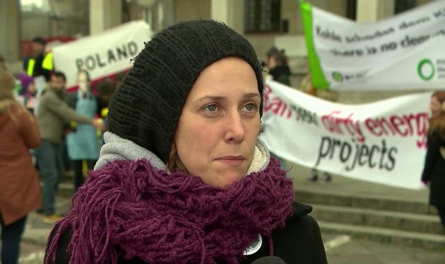 18.11.2013 | Greenpeace na dachu Ministerstwa Gospodarki