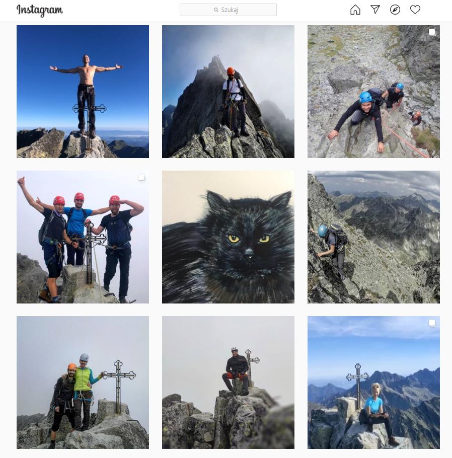Zdjęcia z Gerlachu opublikowane na Instagramie 13 września 2020 roku