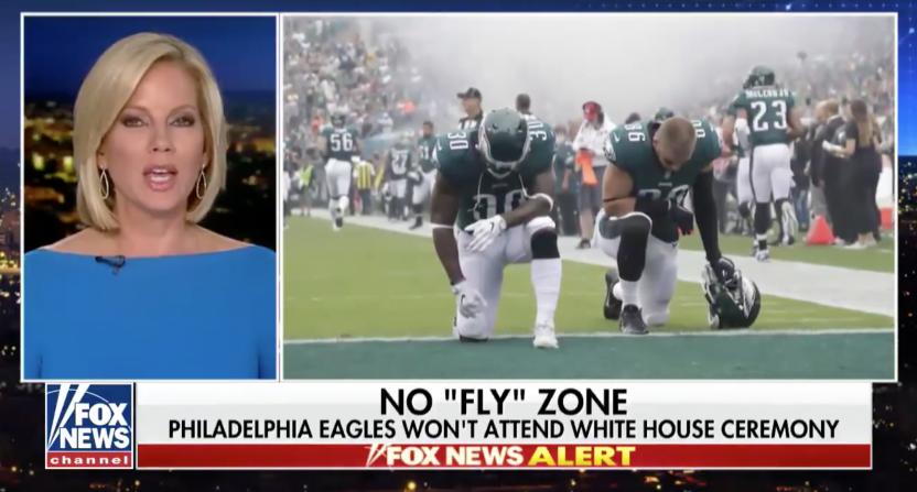 Oryginalny kadr z programu telewizji Fox News
