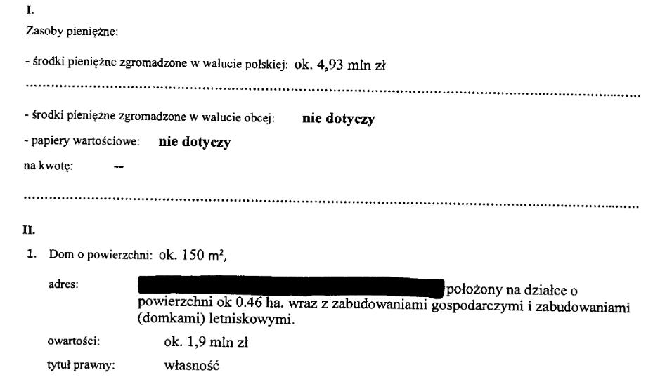 Oszczędności Mateusza Morawieckiego w 2019 r.