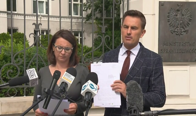 Posłowie KO żądają od ministra sprawiedliwości udostępnienia dokumentacji dotyczącej wydatków z Funduszu Sprawiedliwości