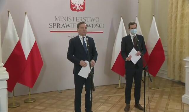 Minister sprawiedliwości Zbigniew Ziobro o ustawie o wolności słowa w internecie