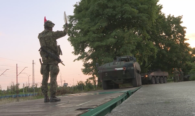 Ćwiczenia wojskowe 12 Szczecińskiej Dywizji Zmechanizowanej