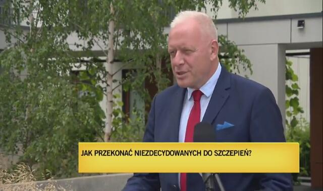 """Dr Sutkowski: """"Zainteresowanie szczepieniami jest bardzo mizerne"""""""
