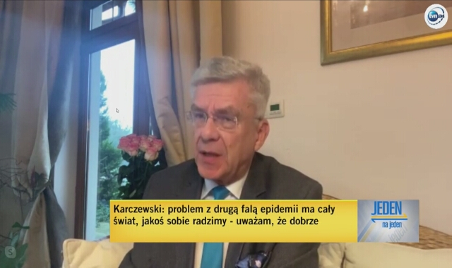 Marszałek Karczewski o zarobkach lekarzy