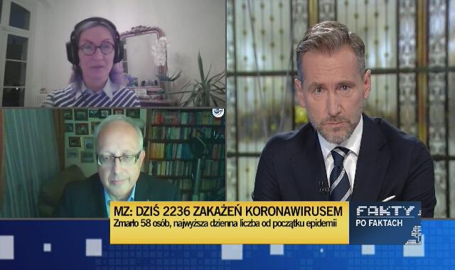 Prof. Flisiak: Nie liczba respiratorów warunkuje ich przydatność, tylko ilość ludzi, którzy potrafią je sprawnie obsłużyć